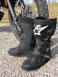 cool motorcycle boots review alpinestars toucan gore tex boot