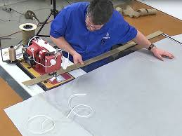 how to protect clear vinyl during fabrication sailrite