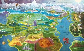 Map Of Avatar Last Airbender World by Fantasy World Map Tv Tropes