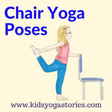 Chair Yoga Poses Best 25 Chair Yoga Poses Ideas On Pinterest Sciatica Relief