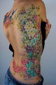 Large Flower Tattoos On - large flower ideas center