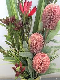 t004 australian native banksia red u2013 artificial flowers sydney