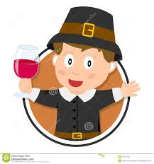 thanksgiving pilgrim boy logo stock photography image 26737632