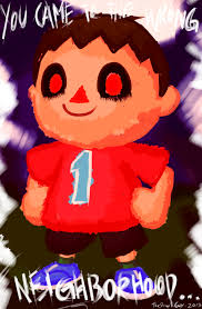 Animal Crossing Villager Meme - the villager creepy villager know your meme