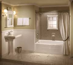 brown and white bathroom ideas decorating ideas for small bathroom arched rectangle mirror with