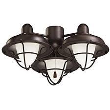 oiled bronze light fixtures emerson ceiling fan light fixtures ceiling fans lk40vnb boardwalk