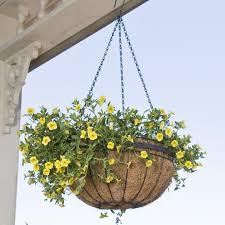 hanging planter basket amazon com cobraco hgb14qe bz queen elizabeth 14 inch bronze