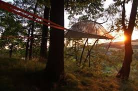 hammock camping tree tent jungle 2 person new connect hanging