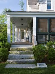 asymmetrical porch steps houzz