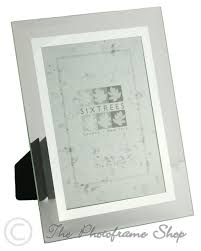 Bevelled Mirror Bevelled Glass U0026 Mirror Line Inset Photo Frame For A 6