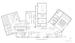 Public Library Floor Plan by Gallery Of Public Library In Estaminet Richard Schoeller
