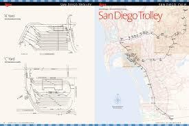 Trolley San Diego Map by Era Maps