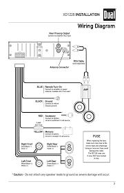 dual stereo xd1228 wiring diagram dual free wiring diagrams