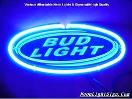 bud light neon signs for sale bud light neon sign bud light keep it blue neon sign real neon light