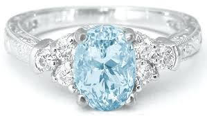 antique aquamarine engagement rings aquamarine and engagement rings engagement rings
