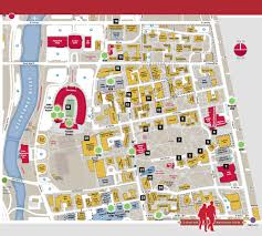 Map Of Ohio State by Location The Osu Buckeyes