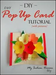 pop up card for mother u0027s day pop up cards pop up and diy flower