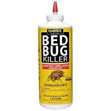 Powder That Kills Bed Bugs Amazon Com Harris Bed Bug Killer Diatomaceous Earth Powder 1 2