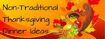 Thanksgiving Traditional Meal Traditional Thanksgiving Dinner Menu Ideas