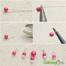 Beaded Chandelier Diy Tutorial On Diy Beaded Chandelier Earrings With Pink Pearls