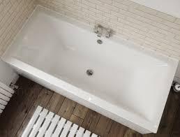 1700 x 700 straight standard bath bathroom acrylic square double