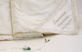 personalized christening blanket personalised christening shawls look mummy