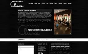 Make Up Classes In Chicago Website Design U0026 Online Store For Luxe Salon U0026 Spa In Chicago Il