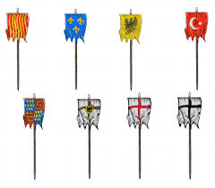 Pin Flags Medieval Flags By Flinstone123 Graphicriver