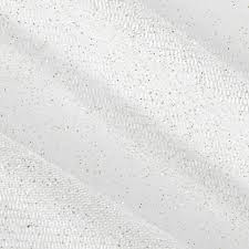 glitter tulle sparkle tulle ivory gold discount designer fabric fabric