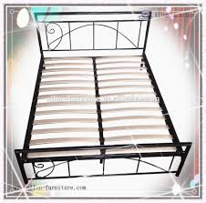 Wood Slats by Double Bed With Wood Slats Iron Double Bed Frames With Headboard