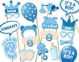 it s a boy baby shower ideas baby shower photo booth props printable photo by rainbowmonkeyart