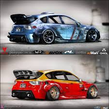 subaru drift car iron man war machine sti rb set tamiya subaru sti brz toyota