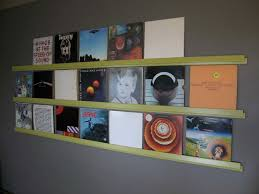 wall mounted record player hang up your old vinyl records 3 steps