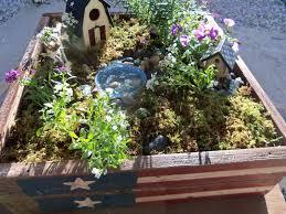 Outdoor Fairy Garden Ideas by Up The Rainbow Creek Fairy Gardens Part I Patriot Garden