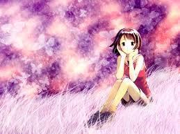 cute anime on grass desktop backgrounds u2013 one hd wallpaper