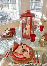 Valentine Decorations For The Table by Kristen U0027s Creations Valentine Tablescape Be Mine