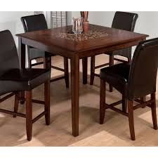 jofran baroque counter height dining table with mosaic inlay 697