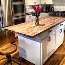 kitchen island with butcher block top white kitchen island butcher block top gret regrd ide antique white