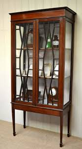 Antique Edwardian Display Cabinet Edwardian Mahogany Display Cabinet C 1910 England From Worboys