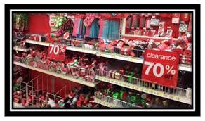 christmas clearance target christmas clearance up to 70 or 50 on candy
