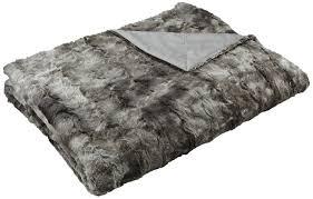 Oversized Faux Fur Throw Amazon Com Pinzon Faux Fur Throw Blanket 63