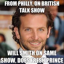 Will Smith Memes - from philly on british talk show will smith on same show does