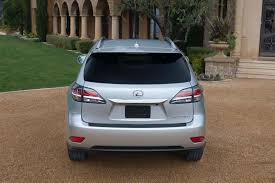 lexus rx usb port 2015 lexus rx 350 rx 450h get minor updates truck trend