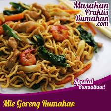 cara membuat mie goreng cur wortel mie goreng udang spesial resep masakan praktis rumahan indonesia