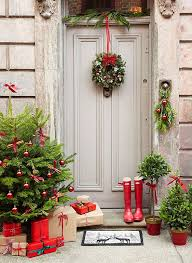 Home Decor For Christmas Best 25 Christmas Front Doors Ideas On Pinterest Christmas