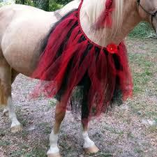 Gothic Ballerina Halloween Costume Horse Tutu Equine Costume Halloween Mybuddybling Horse