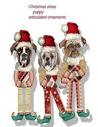 christmas ornaments christmas tree decoration puppies paper