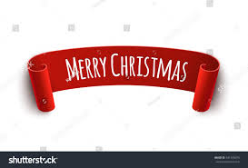 merry christmas sign paper curved label merry christmas sign stock vector 541426975