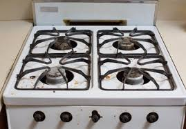stove top how to clean a greasy gas stovetop with just soap and water kitchn