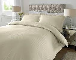 Uk Single Duvet Size Hotel Quality Luxury Satin Stripe Duvet Cover Single Double King